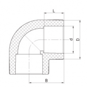 PPR Elbow  (20mm 25mm 32mm to 160mm)