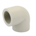 White PPR Elbow fittings